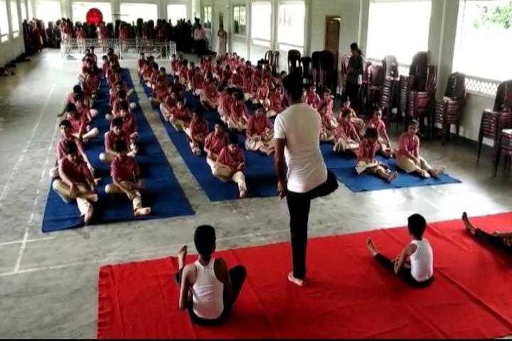 Christu Jyothi Public School-International Yoga Day