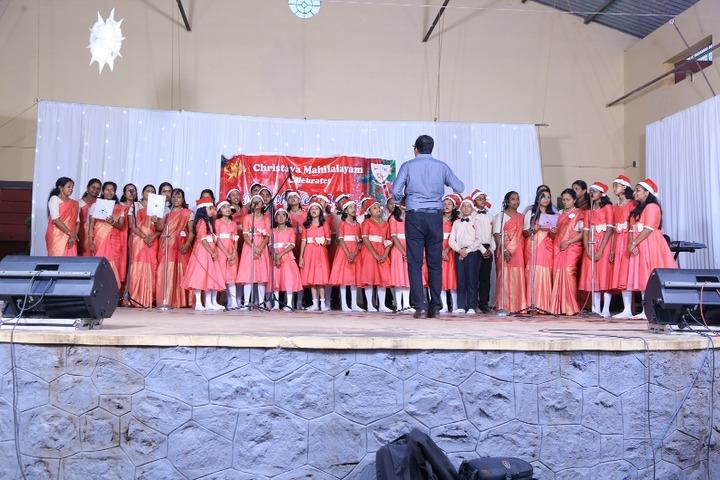 Christava Mahilalayam Public School-Christmas Celebrations