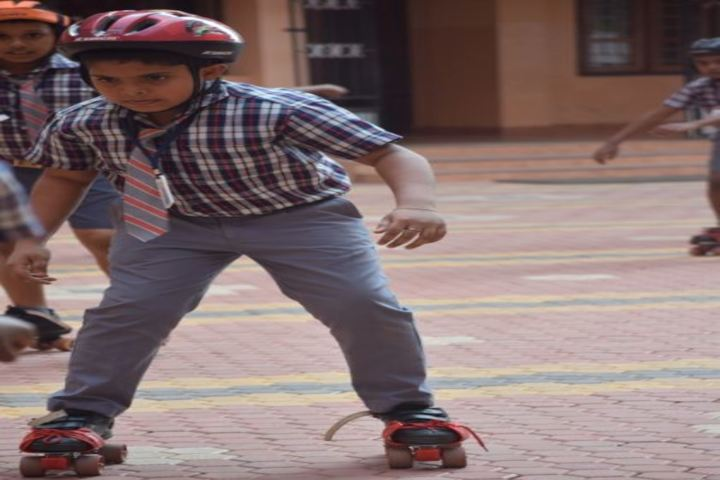 Cluny School-Skating Activity