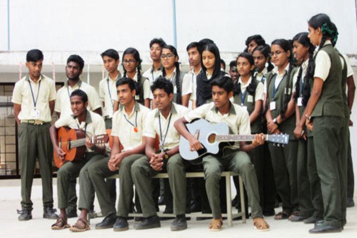 Co-Operative Public School-Music Room