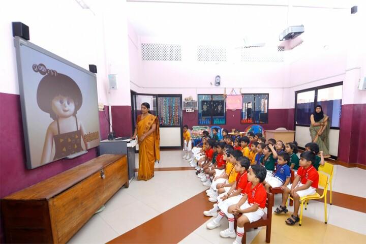 Cochin Public School-Classroom