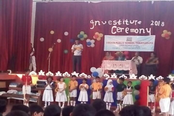 Cochin Public School-Investiture Ceremony