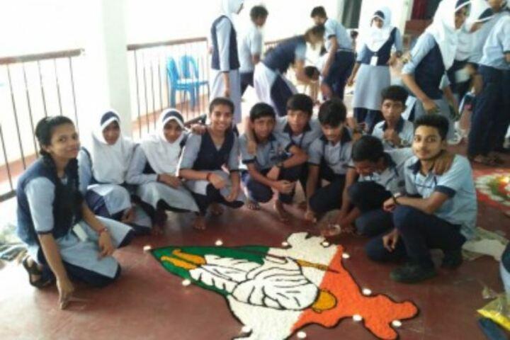 Cochin Public School-Rangoli Competition