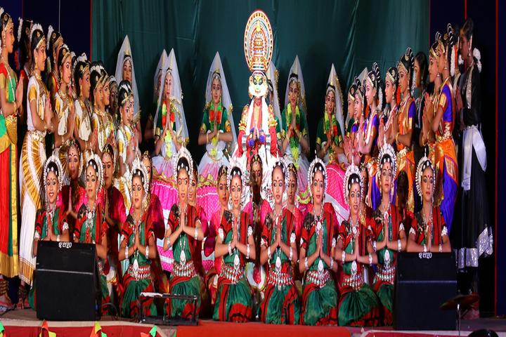 Cochin Refineries School-Dancing Activity