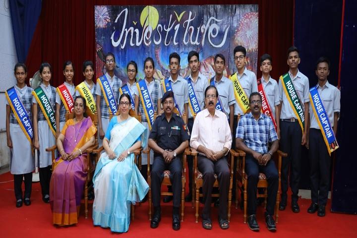 Cochin Refineries School-Investiture Ceremony