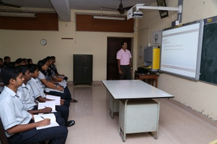 Cochin Refineries School-Smart Classroom