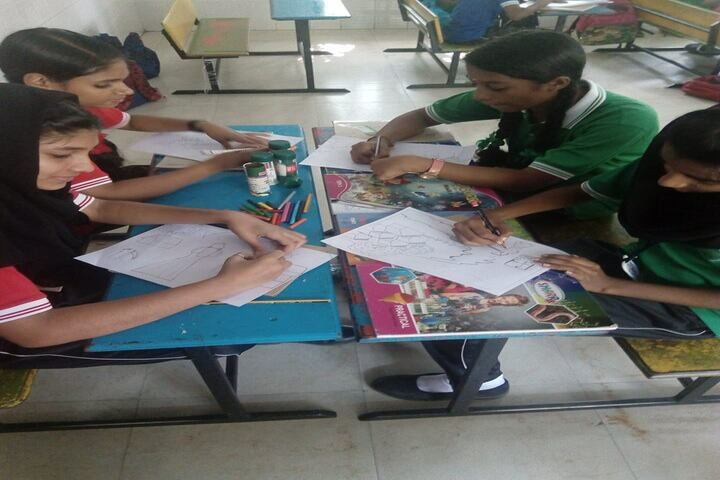 Cooperative Public School-Drawing Competition