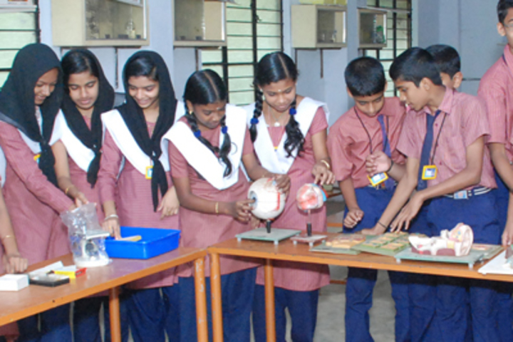 Crescent Central School-Biology Lab