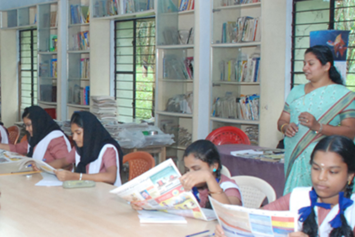 Crescent Central School-Library