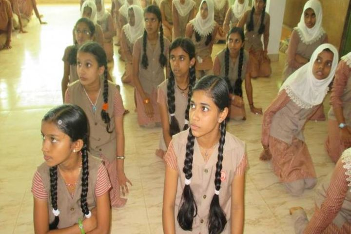 Crescent English Medium School-Yoga Day