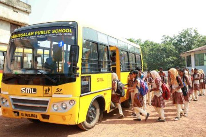 Darusalam English Medium School-Transport