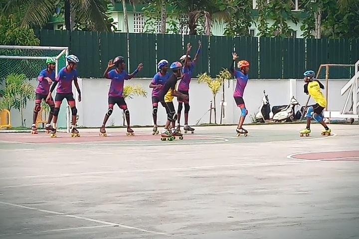 Darusslam Public School-Skating Activity