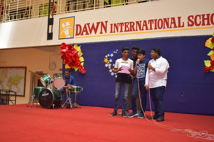 Dawn International School-Singing Activity