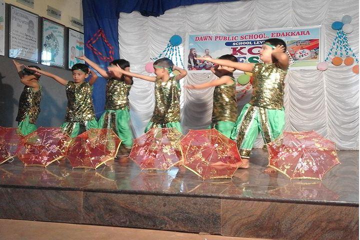 Dawn Public School-Dancing Activity