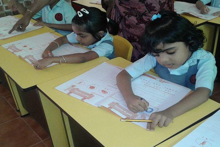 Dawn Public School-Drawing Activity
