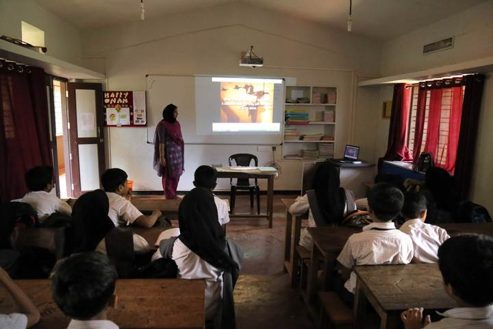 Dayapuram Residential School-Classroom