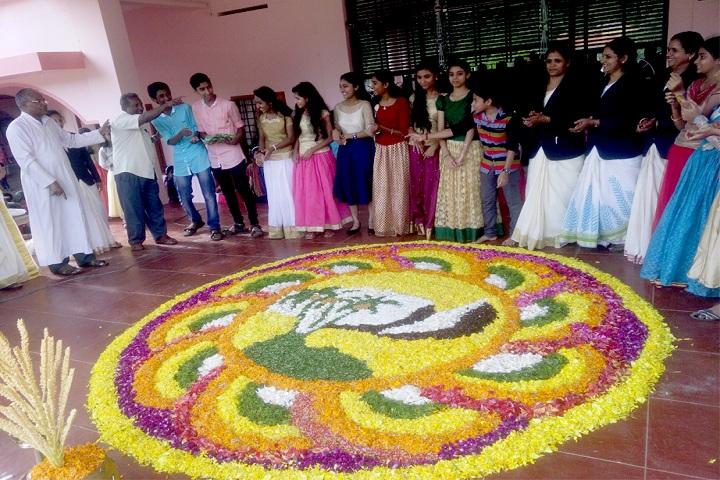 De Paul Public School Idukki-Rangoli