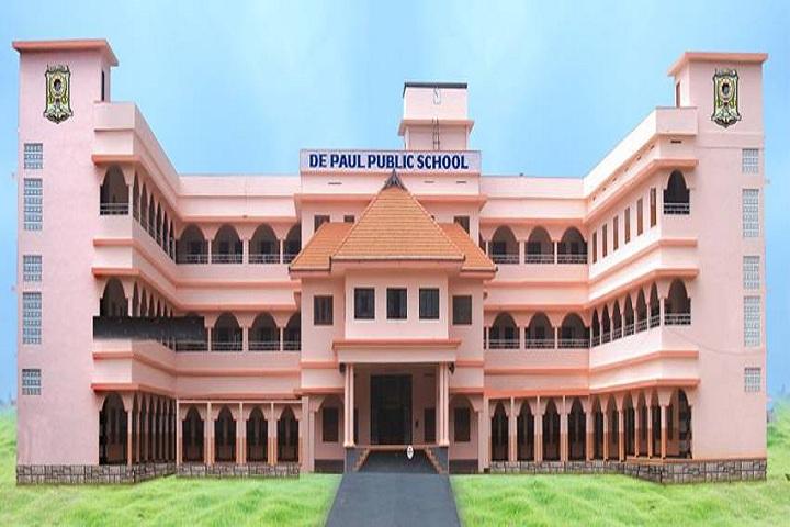 De Paul Public School Idukki-School building