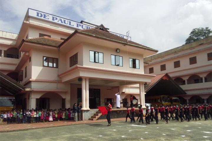 De Paul Public School Idukki-Sports day