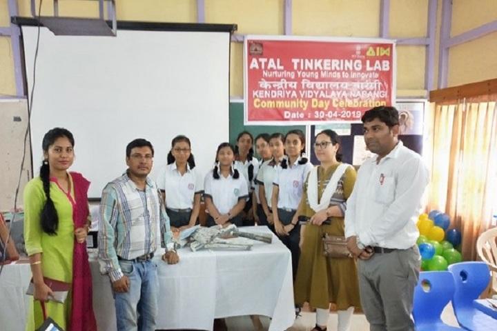 Kendriya Vidyalaya-Community day celebration