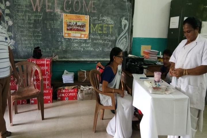 Kendriya Vidyalaya-Medical camp