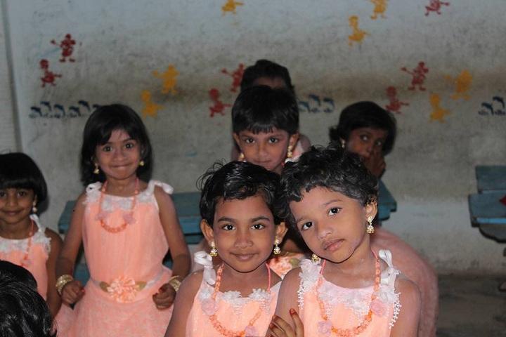Delta Central School-Nursery students