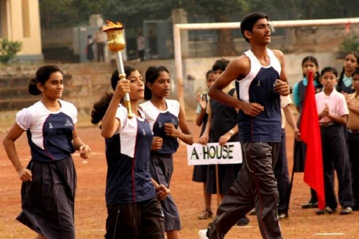 Devagiri CMI Public School-Sports day