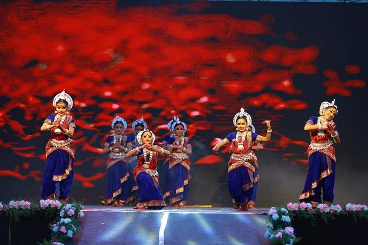 Devamatha CMI Public School-Kerala dance