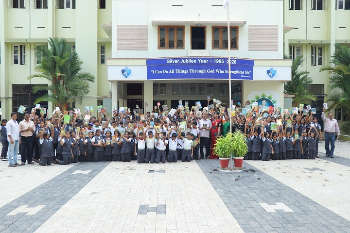 Devamatha CMI Public School-Reading day