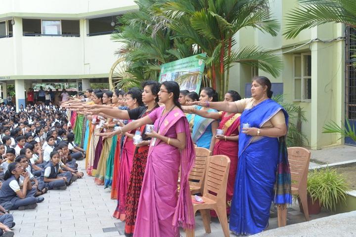 Devamatha CMI Public School-Teachers day