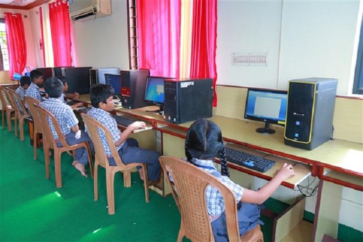Dr. N. International School-Computer lab