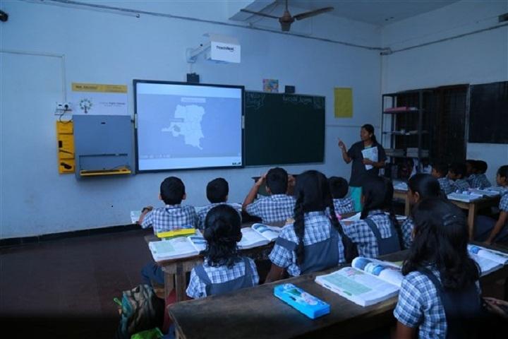 Dr. N. International School-Digital classroom