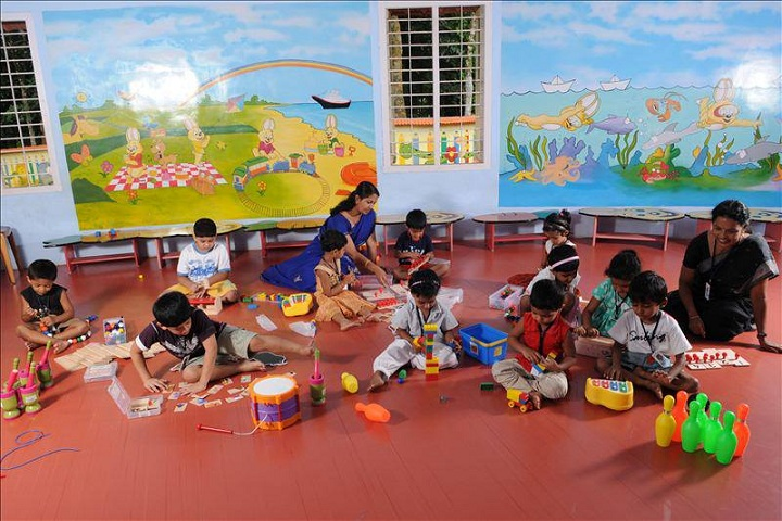 Eden Public School-Nursery Activity