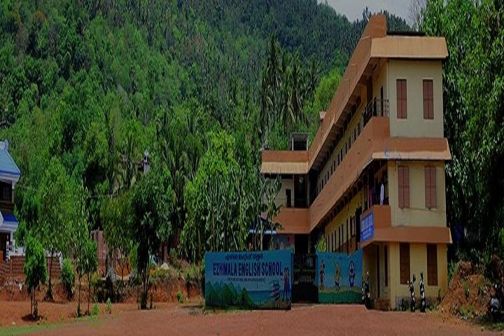 Ezhimala English School-School building