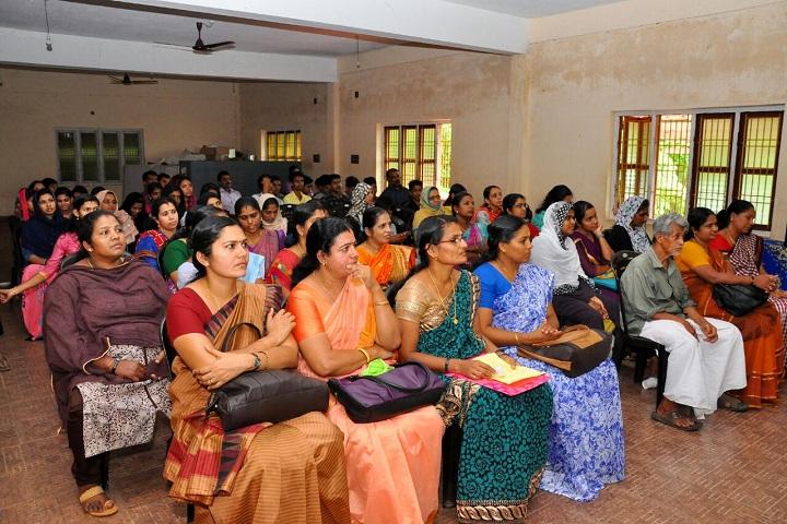 Fazl-E-Omar Public School-Staff meeting