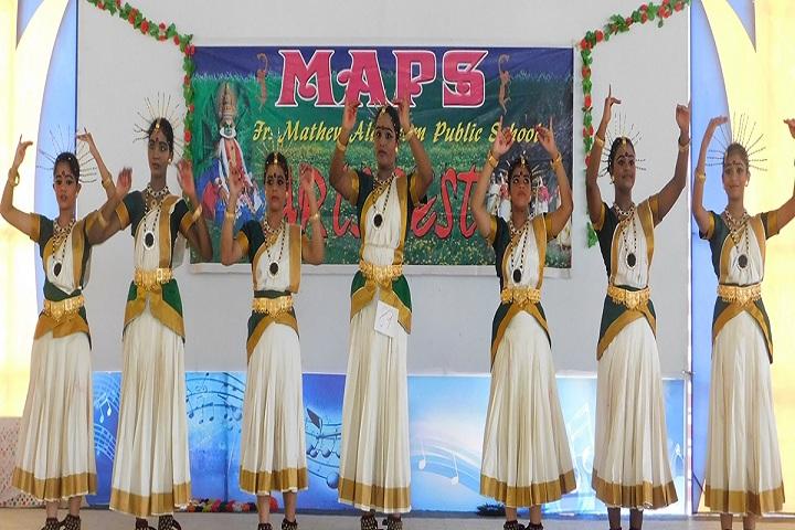 Fr Mathew Alakolam Public School-Kerala dances