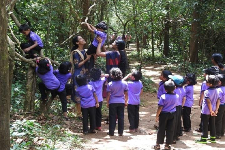 Fr Mathew Alakolam Public School-Kg students tour