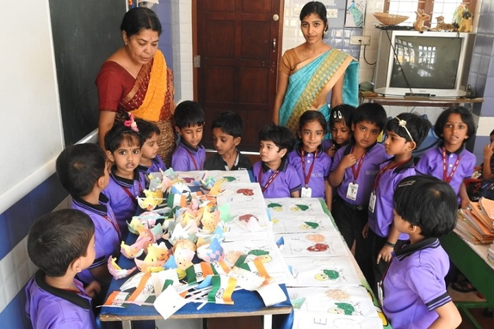 Fr Mathew Alakolam Public School-Lkg students learing activities