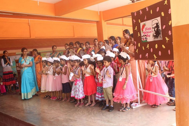 Fusco English Medium School-Childrens  day