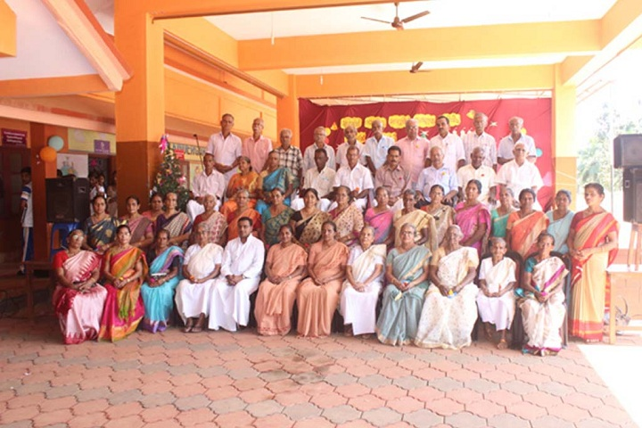 Fusco English Medium School-Grand parents day