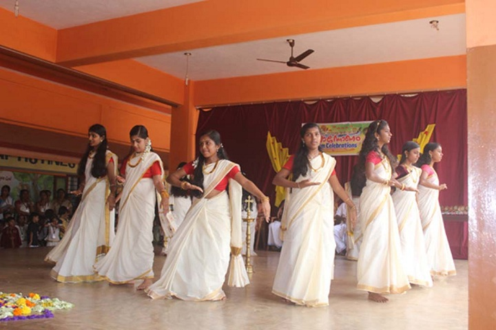 Fusco English Medium School-Onam celebratins