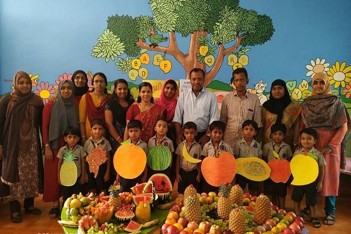 Gadha Public School- Kg students