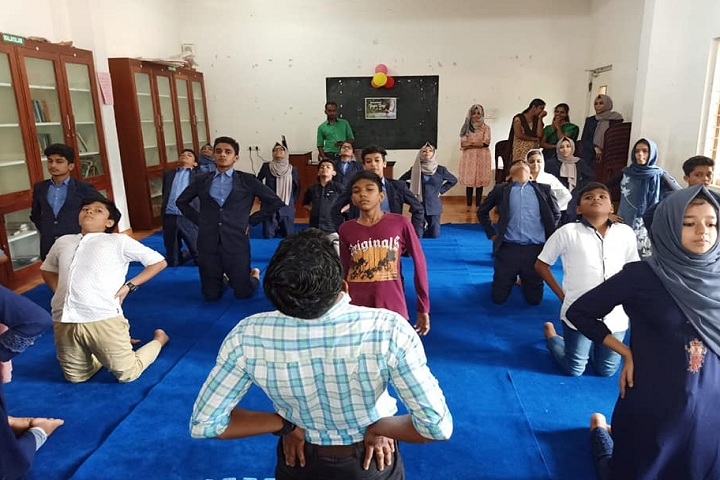Gadha Public School-Yoga