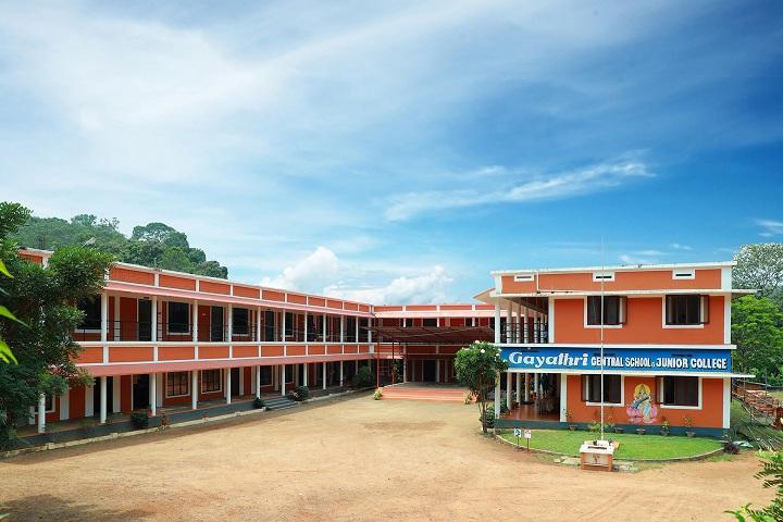Gayathri Central School-School building