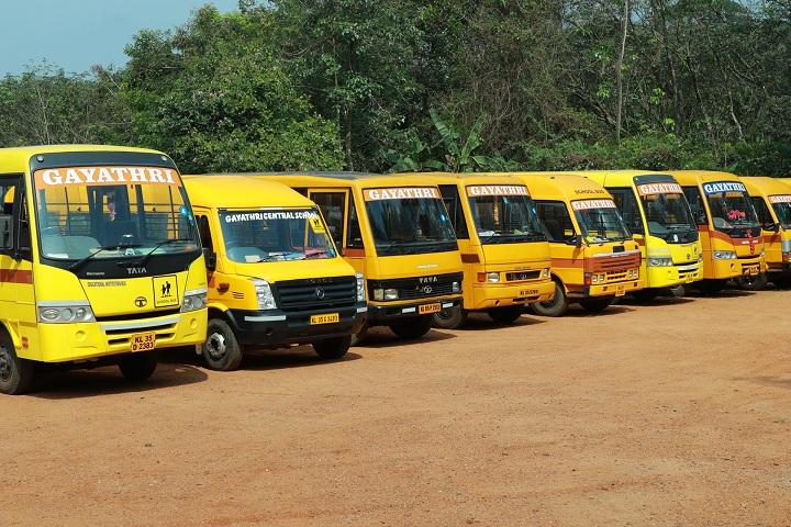 Gayathri Central School-School bus