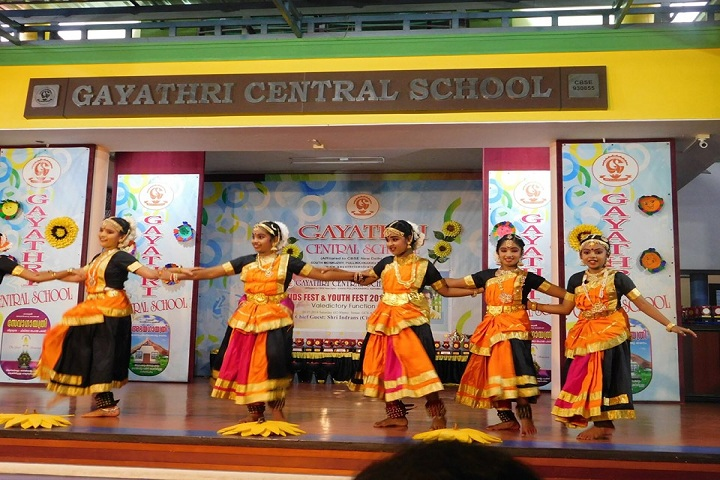 Gayathri Central School-Classical dances