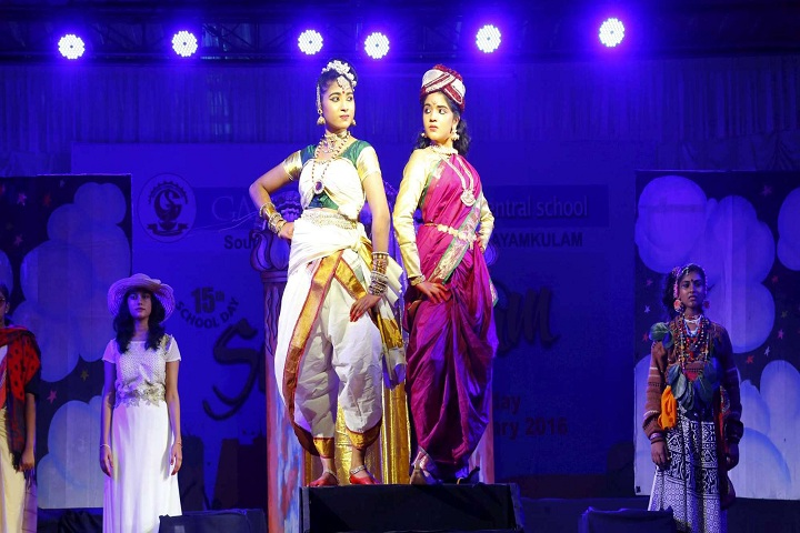 Gayathri Central School-Fancy dress competition