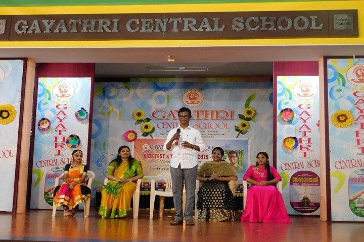 Gayathri Central School-Youth fest