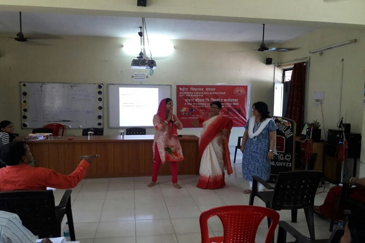 Kendriya Vidyalaya-Commucation workshop