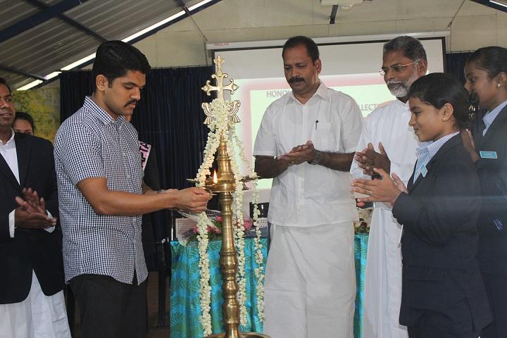 Girijyothi Cmi Public School-Lighting the lamp